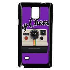 Say Cheese Samsung Galaxy Note 4 Case (Black)