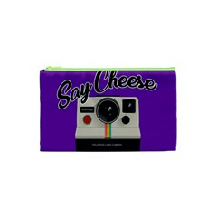 Say Cheese Cosmetic Bag (XS)