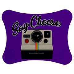 Say Cheese Jigsaw Puzzle Photo Stand (Bow)
