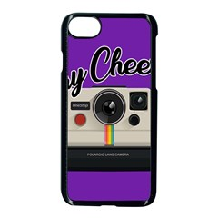 Say Cheese Apple iPhone 7 Seamless Case (Black)