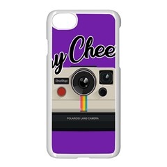 Say Cheese Apple iPhone 7 Seamless Case (White)