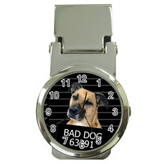 Bed Dog Money Clip Watches by Valentinaart