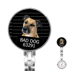 Bed Dog Stainless Steel Nurses Watch by Valentinaart