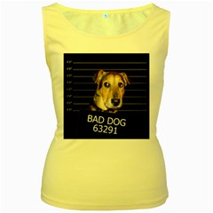 Bed Dog Women s Yellow Tank Top