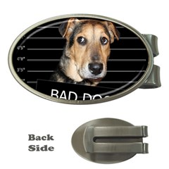 Bed Dog Money Clips (oval)  by Valentinaart