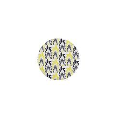 Tricolored Geometric Pattern 1  Mini Buttons by linceazul