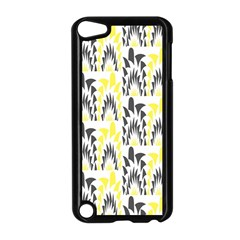 Tricolored Geometric Pattern Apple Ipod Touch 5 Case (black) by linceazul