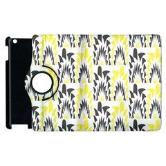 Tricolored Geometric Pattern Apple Ipad 3/4 Flip 360 Case by linceazul