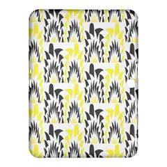 Tricolored Geometric Pattern Samsung Galaxy Tab 4 (10 1 ) Hardshell Case  by linceazul