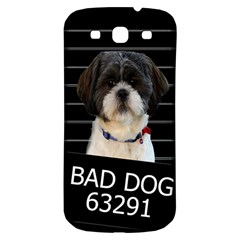 Bad Dog Samsung Galaxy S3 S Iii Classic Hardshell Back Case by Valentinaart