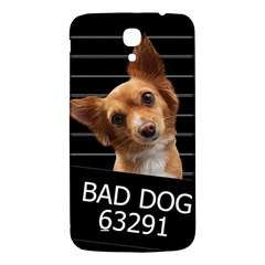 Bad Dog Samsung Galaxy Mega I9200 Hardshell Back Case by Valentinaart