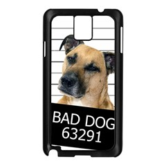 Bad Dog Samsung Galaxy Note 3 N9005 Case (black) by Valentinaart
