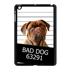 Bad Dog Apple Ipad Mini Case (black) by Valentinaart