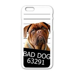 Bad Dog Apple Iphone 6/6s White Enamel Case