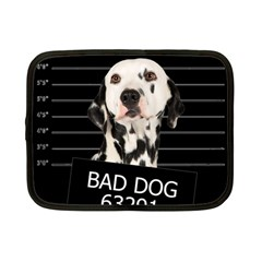 Bad Dog Netbook Case (small)  by Valentinaart