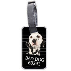 Bad Dog Luggage Tags (two Sides) by Valentinaart
