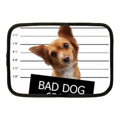 Bad Dog Netbook Case (medium)  by Valentinaart