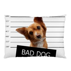 Bad Dog Pillow Case by Valentinaart