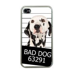 Bad Dog Apple Iphone 4 Case (clear)