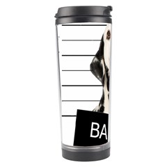 Bad Dog Travel Tumbler by Valentinaart