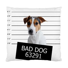 Bad Dog Standard Cushion Case (one Side) by Valentinaart