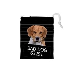 Bad Dog Drawstring Pouches (small)