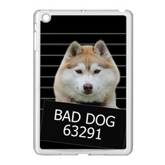 Bad Dog Apple Ipad Mini Case (white) by Valentinaart