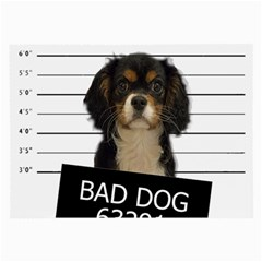 Bad Dog Large Glasses Cloth (2-side) by Valentinaart