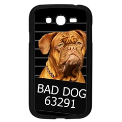 Bad Dog Samsung Galaxy Grand Duos I9082 Case (black) by Valentinaart