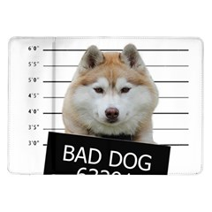 Bad Dog Samsung Galaxy Tab 10 1  P7500 Flip Case by Valentinaart
