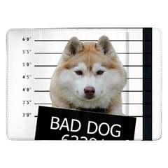 Bad Dog Samsung Galaxy Tab Pro 12 2  Flip Case by Valentinaart