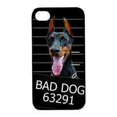 Bad Dog Apple Iphone 4/4s Hardshell Case With Stand by Valentinaart