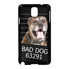 Bad Dog Samsung Galaxy Note 3 Neo Hardshell Case (black) by Valentinaart