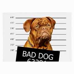 Bad Dog Large Glasses Cloth by Valentinaart