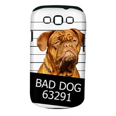 Bad Dog Samsung Galaxy S Iii Classic Hardshell Case (pc+silicone)