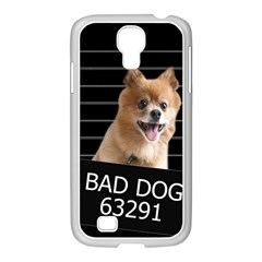 Bad Dog Samsung Galaxy S4 I9500/ I9505 Case (white)