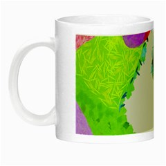 Painted Shapes            Night Luminous Mug by LalyLauraFLM
