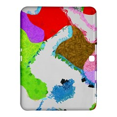 Painted Shapes      Samsung Galaxy Tab 4 (8 ) Hardshell Case by LalyLauraFLM