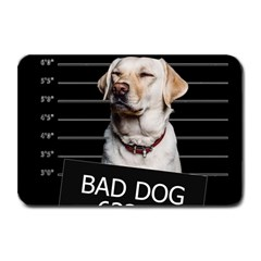 Bad Dog Plate Mats by Valentinaart