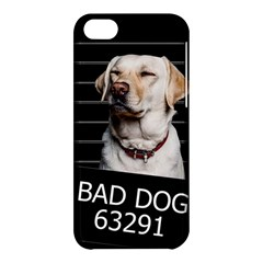 Bad Dog Apple Iphone 5c Hardshell Case by Valentinaart