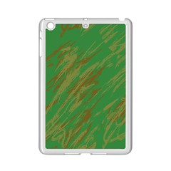 Brown Green Texture       Apple Ipad 3/4 Case (white)