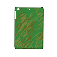Brown Green Texture       Apple Ipad Air Hardshell Case by LalyLauraFLM