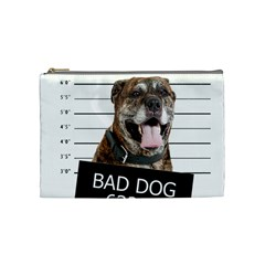 Bad Dog Cosmetic Bag (medium)