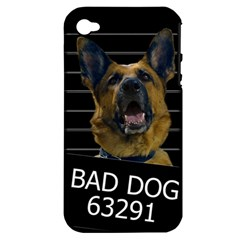 Bad Dog Apple Iphone 4/4s Hardshell Case (pc+silicone) by Valentinaart