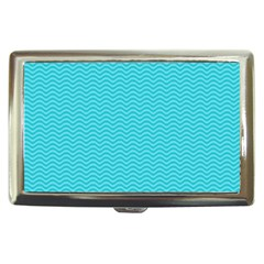 Blue Waves Pattern  Cigarette Money Cases