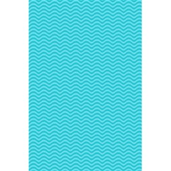 Blue Waves Pattern  5 5  X 8 5  Notebooks