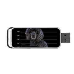 Bad Dog Portable Usb Flash (one Side) by Valentinaart