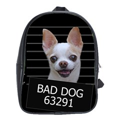 Bad Dog School Bags(large)  by Valentinaart