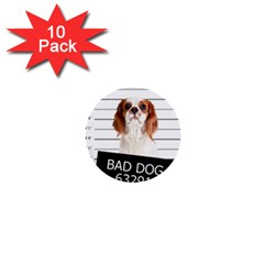 Bad Dog 1  Mini Buttons (10 Pack)  by Valentinaart