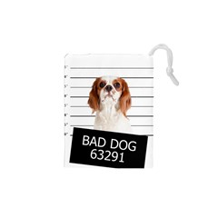 Bad Dog Drawstring Pouches (xs)  by Valentinaart